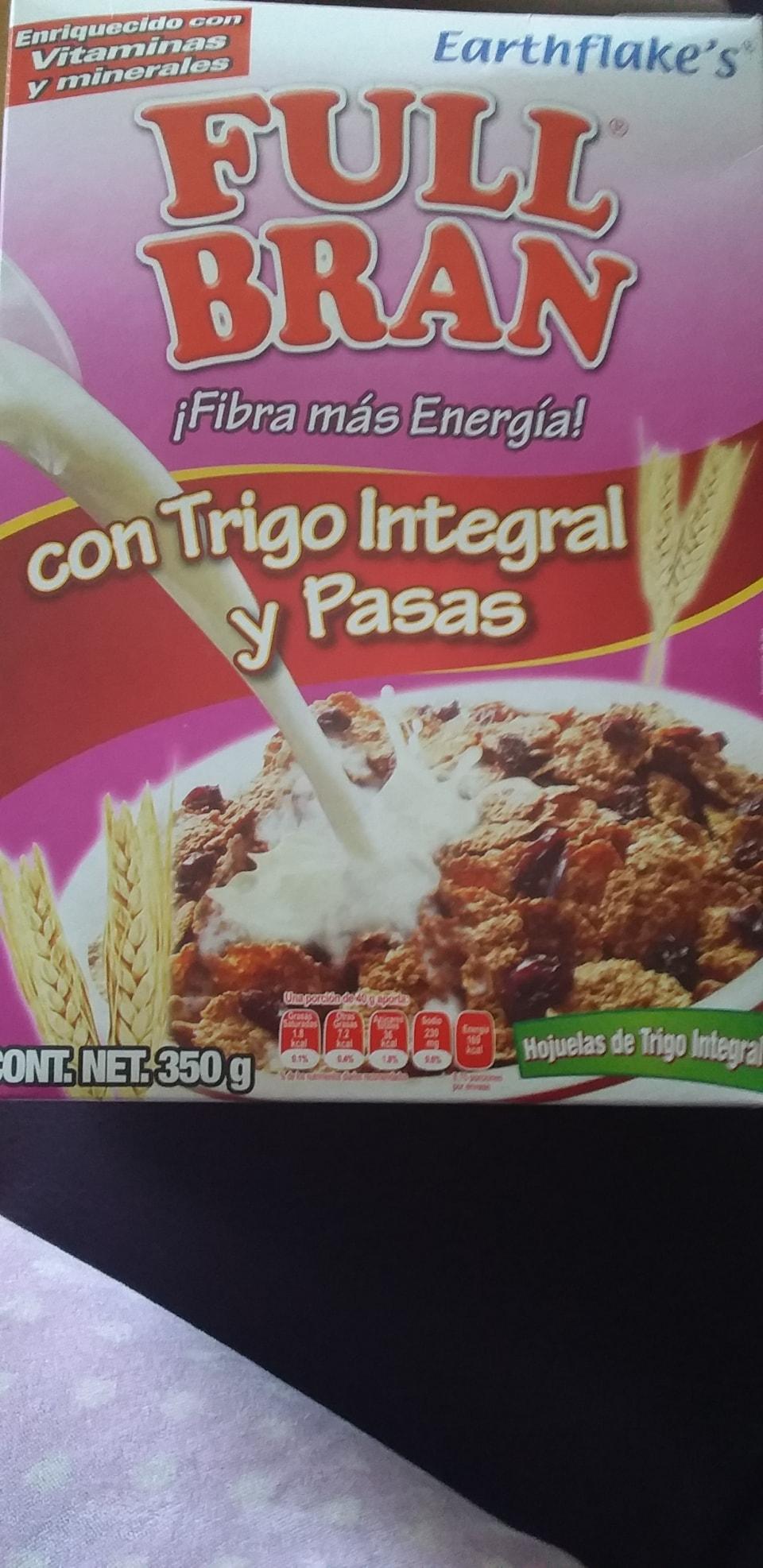 Caja de cereal