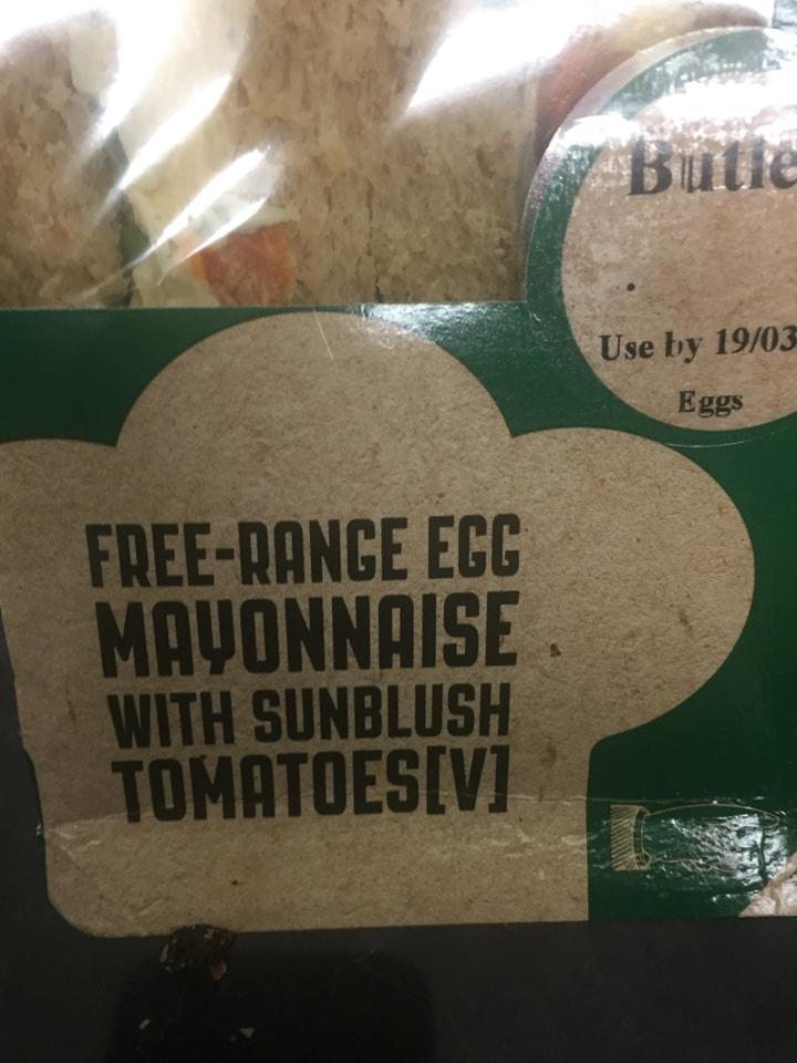 Butlers sandwich