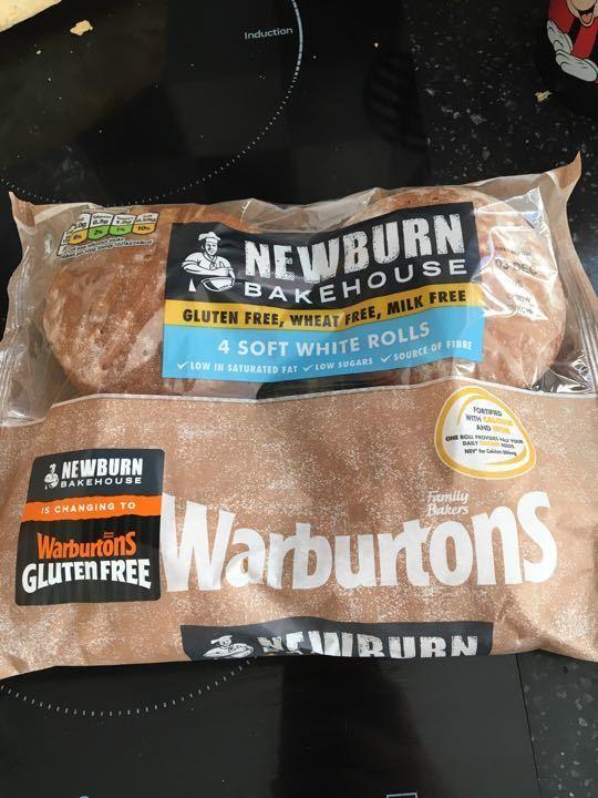 Warburtons gluten free white rolls