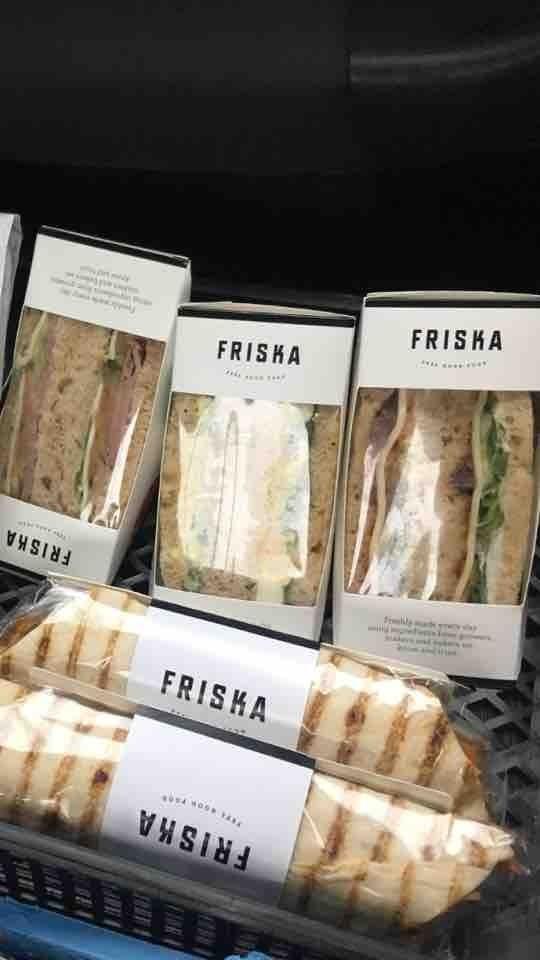 FRISKA egg salad sandwich