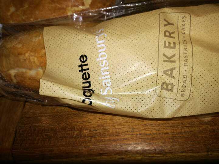 Large white baguette