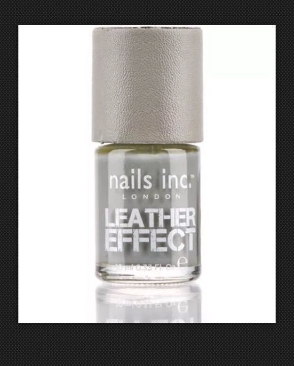 New Unopened Nails inc Old Compton Street Leather Effect Nail polish Worth £15