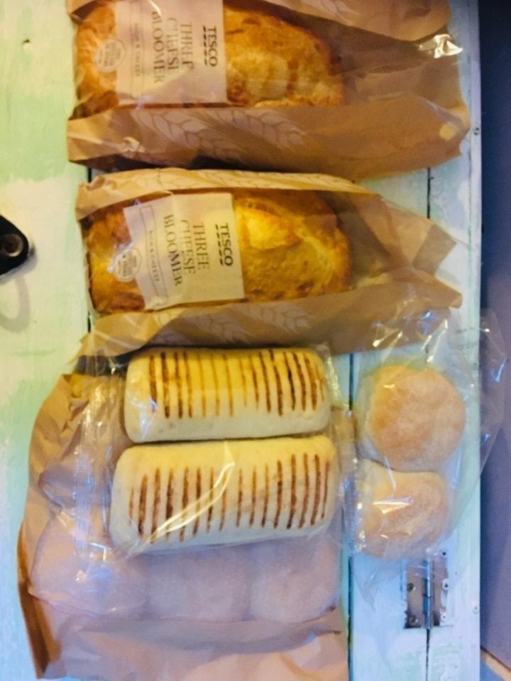 TESCO 🥖 Bread 🍞