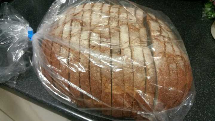 Sourdough bread donated by Dandy