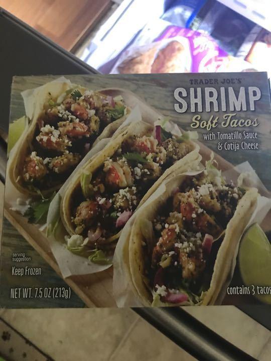 Trader Joe's Shrimp Tacos