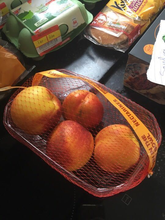 Tesco home ripening nectarines