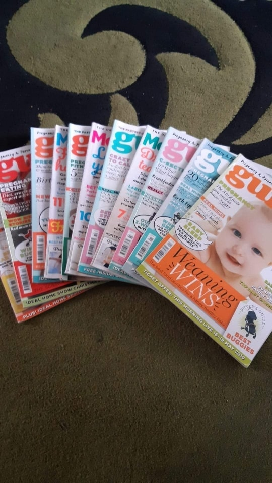 Bundle of mum and baby magazines