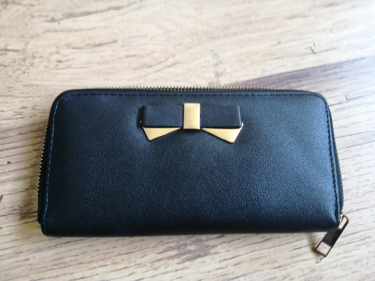Black Primark purse