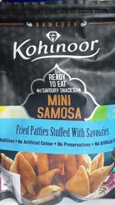 Bag of mini samosas