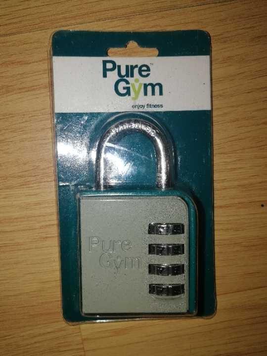 Pure Gym padlock