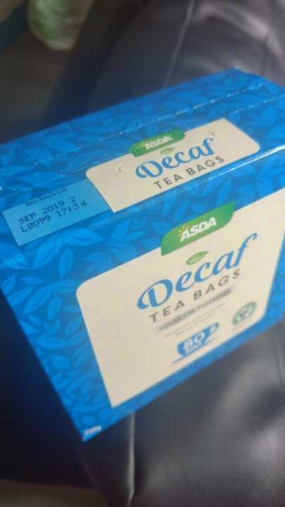 Unopened 80 Decaf Black Tea Bags