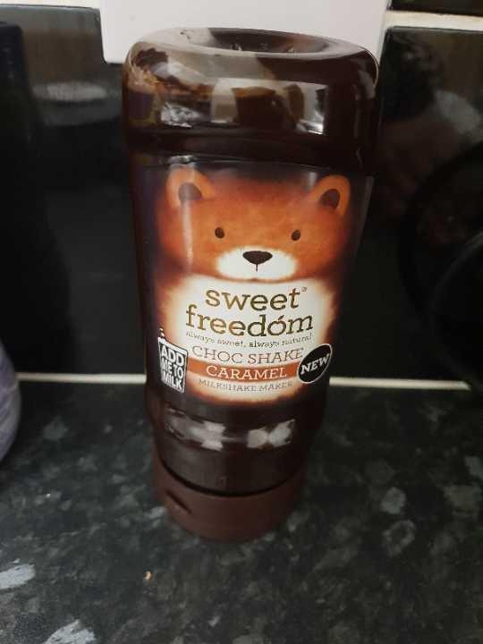 Sweet Freedom choc shake caramel