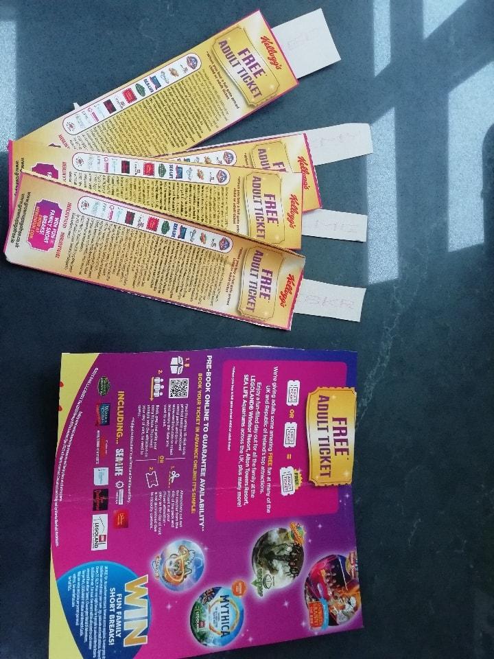 Free Adult Ticket Vouchers