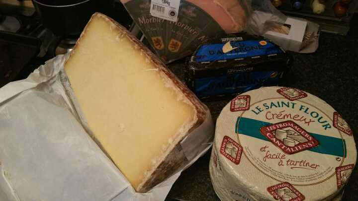 French PDO cheeses