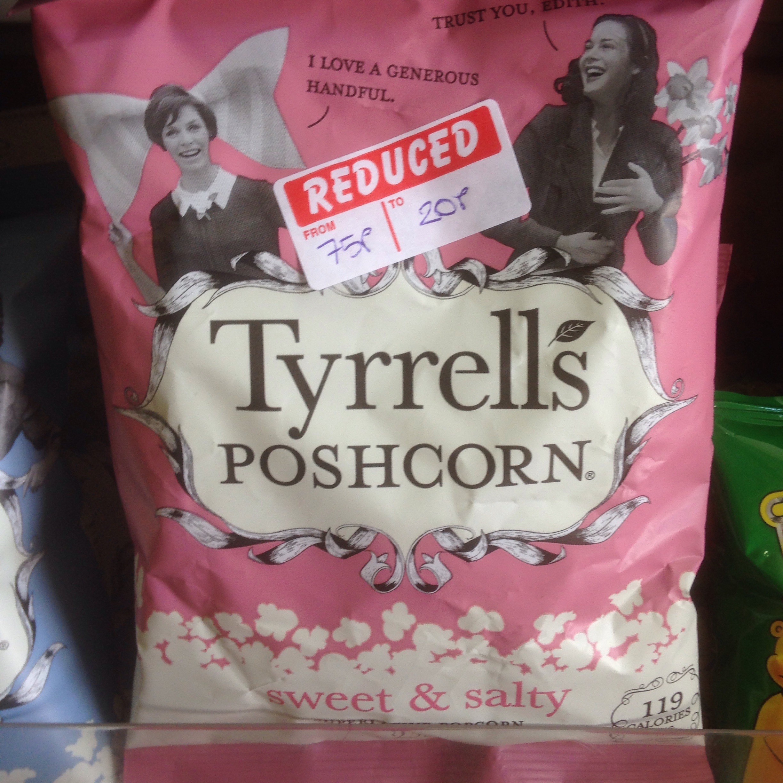Tyrrells Organic Sweet/Salty Popcorn