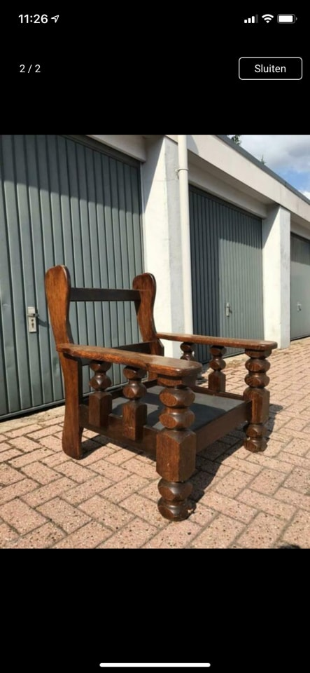 Fix up chair