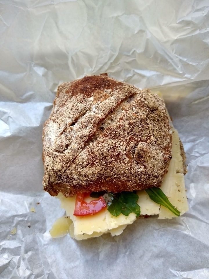 4 x veggie sandwich