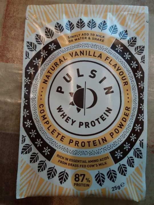 Natural vanilla whey powder