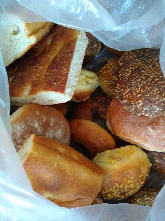 Bread, pastries and rolls to go!