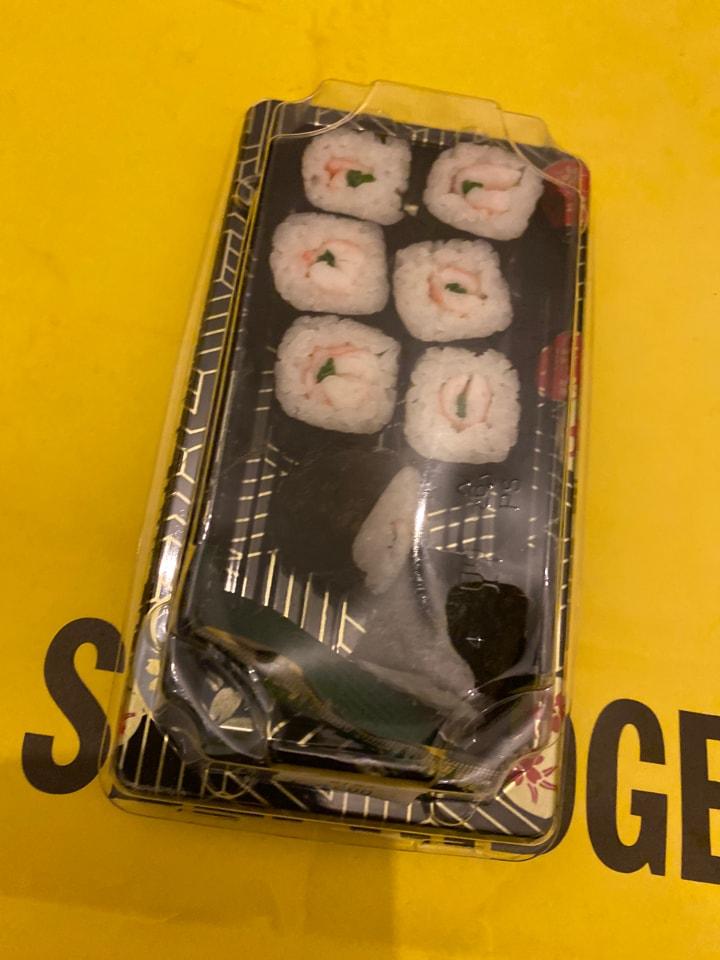 Crab Sushi (6 pieces)