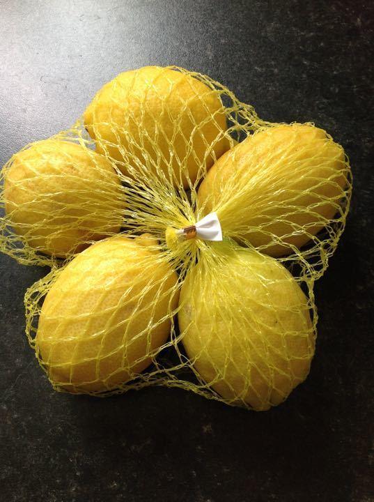 Bag of 5 lemons