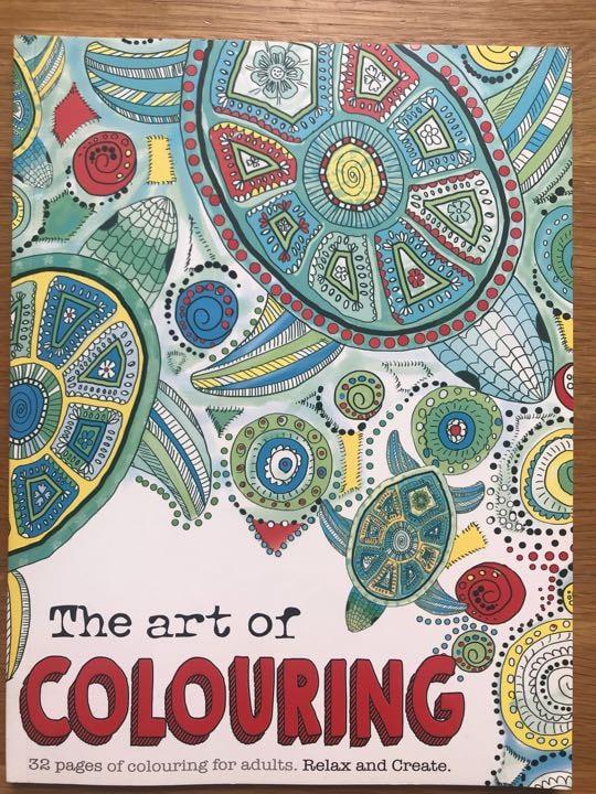 X2 mindfulness colouring books