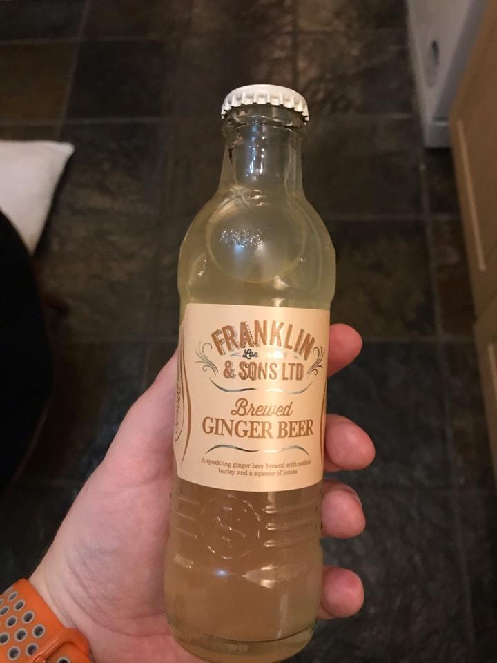 Bottle of ginger beer