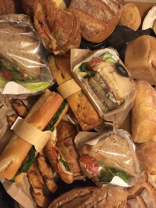 Bread and savoury stuff
