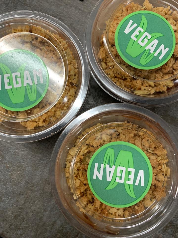 Vegan Chocolate Granola Pots x3