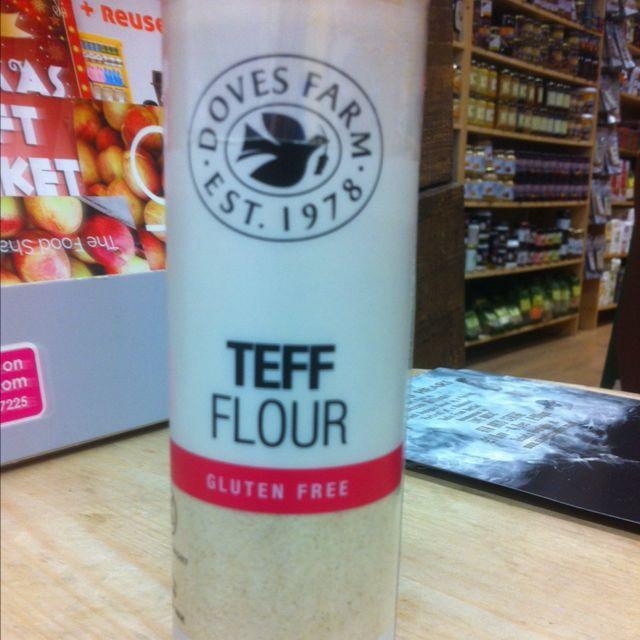 teff flour (gluten free)