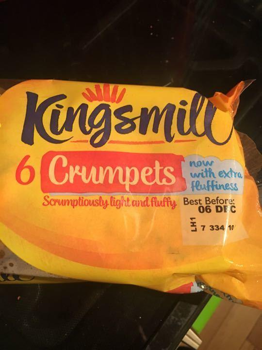 6 crumpets