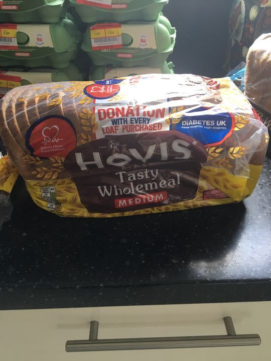 Hovis medium wholemeal bread