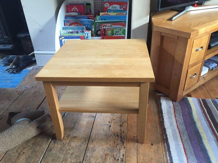 Ikea skoghall coffee table
