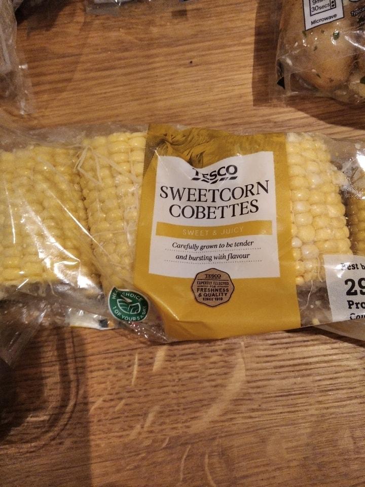 Sweet corn cobbettes