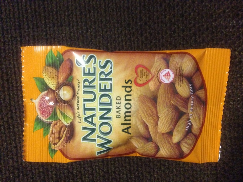 Baked Almonds - small packet (15g)
