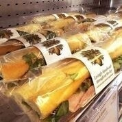 Baguettes and wraps from Pret