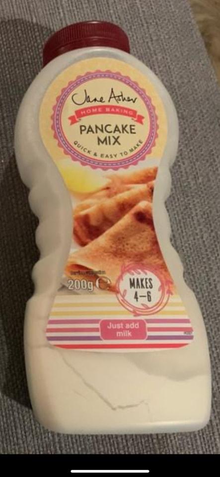 Pancake Mix Bottle - Just add milk - BB May 2022