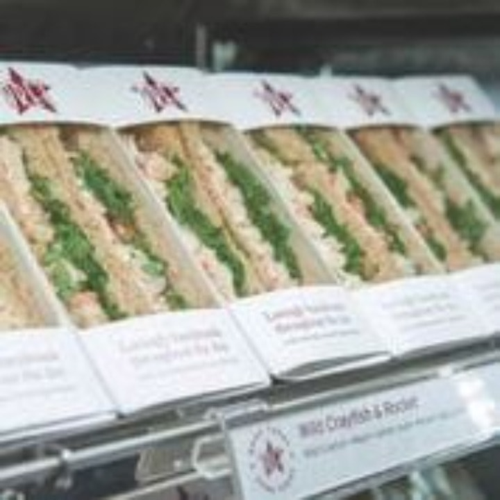 Meaty items from Pret