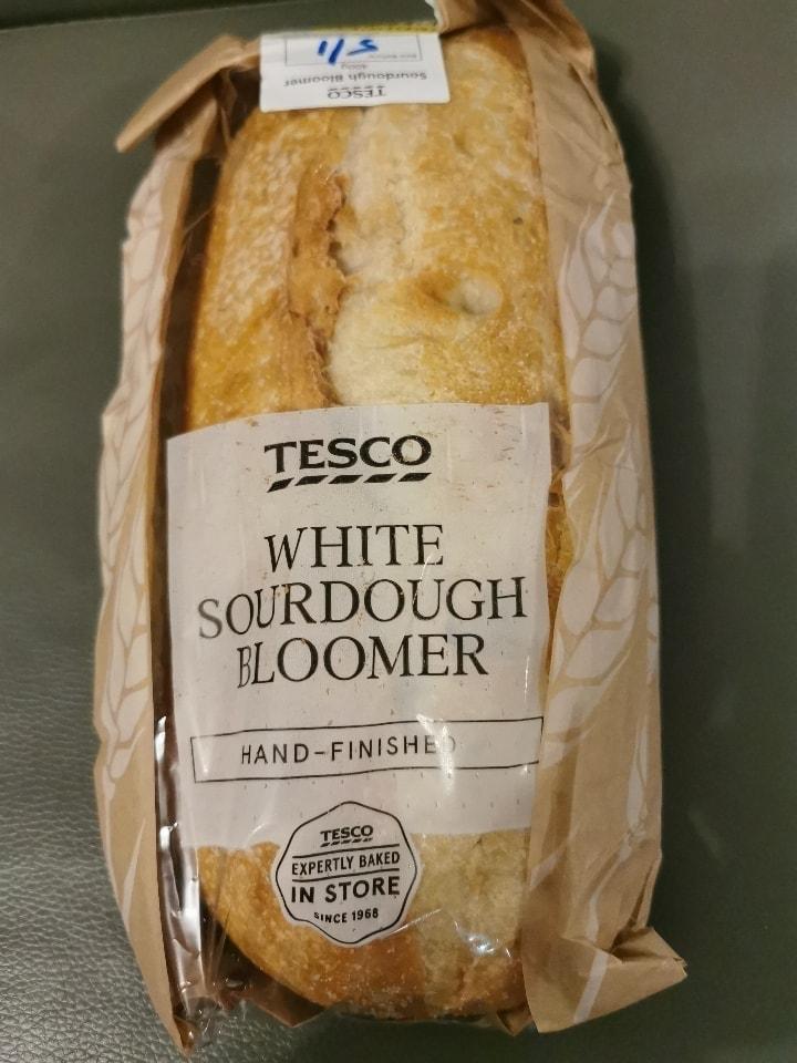 Tesco white sourdough bloomer