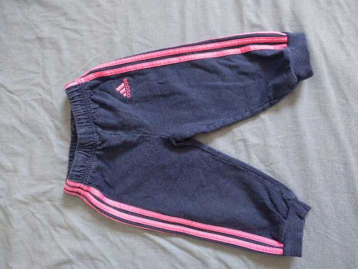 Adidas trousers size 80 9-12m