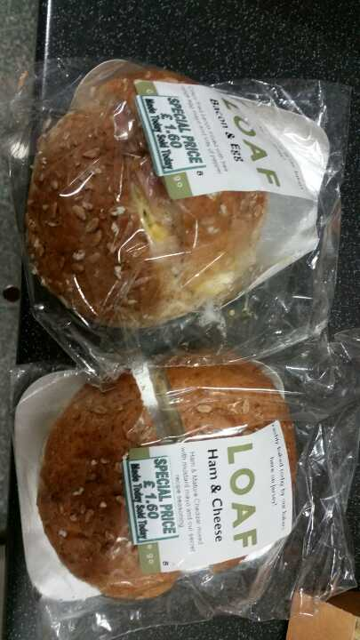 Ham & cheese roll