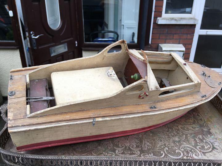 Boat - needs fixing