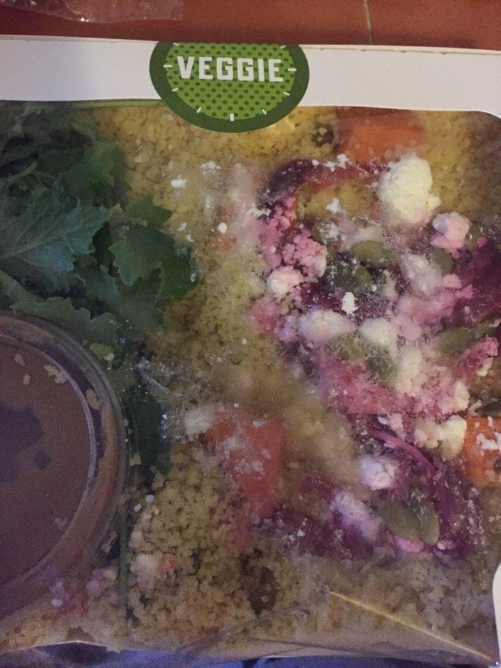 1 x veggie salad