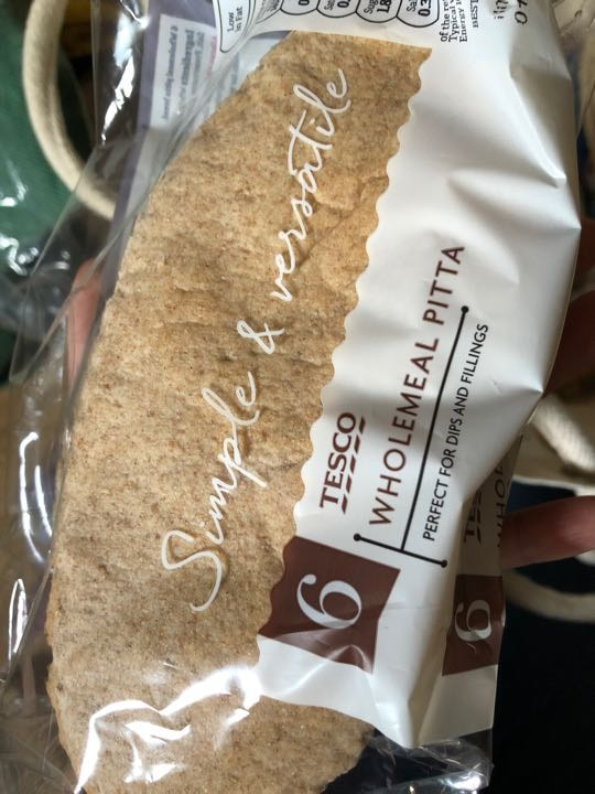 Wholemeal pittas