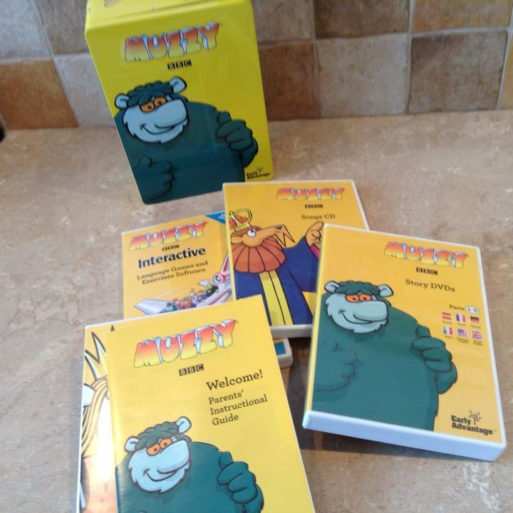 Muzzy Box Set....Early Learning