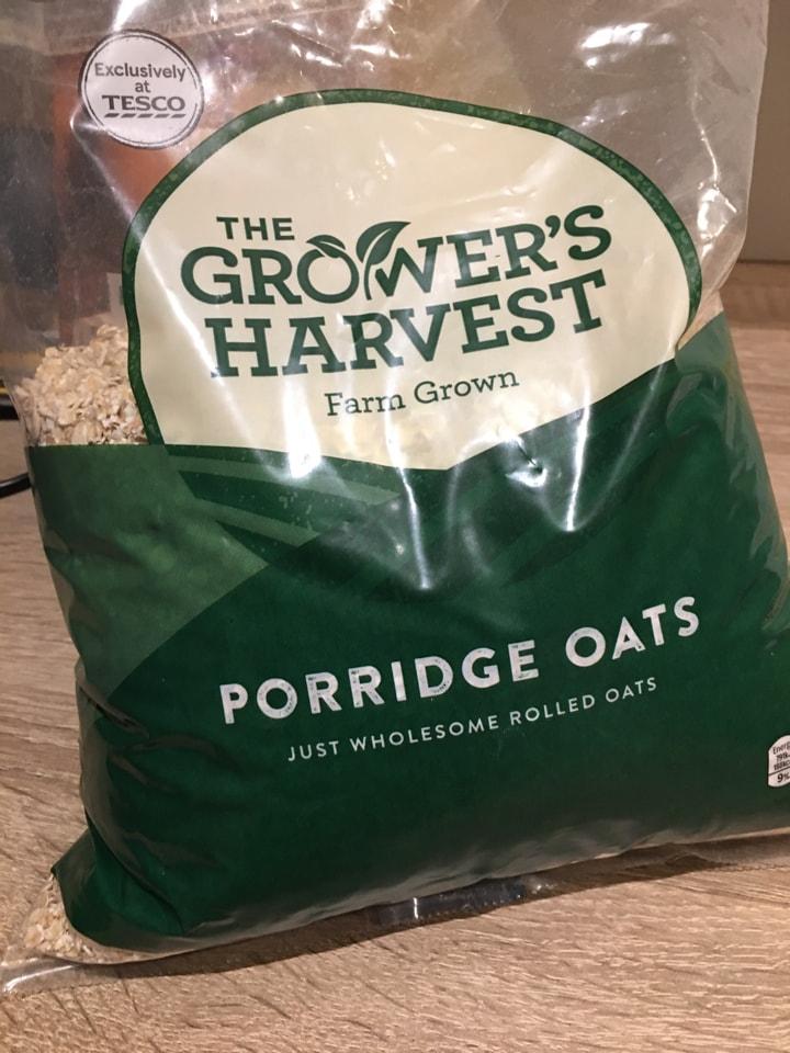 The Growers Harvest Porridge Oats (unopened)