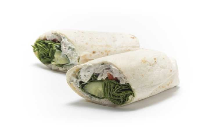Selection of Pret Wraps