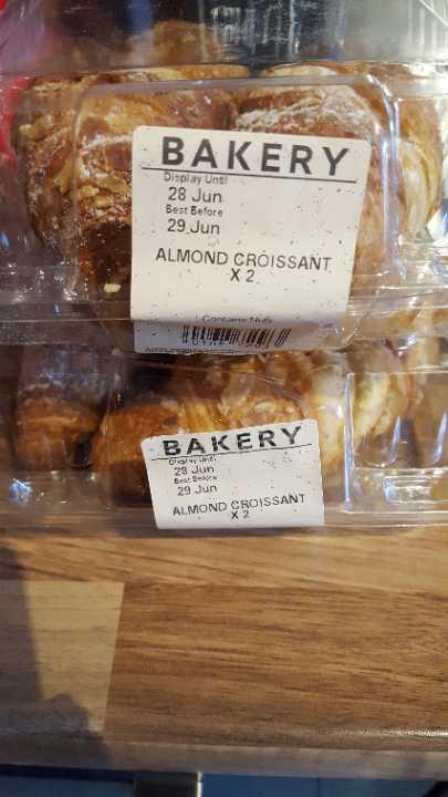 Almond croissants (cw)