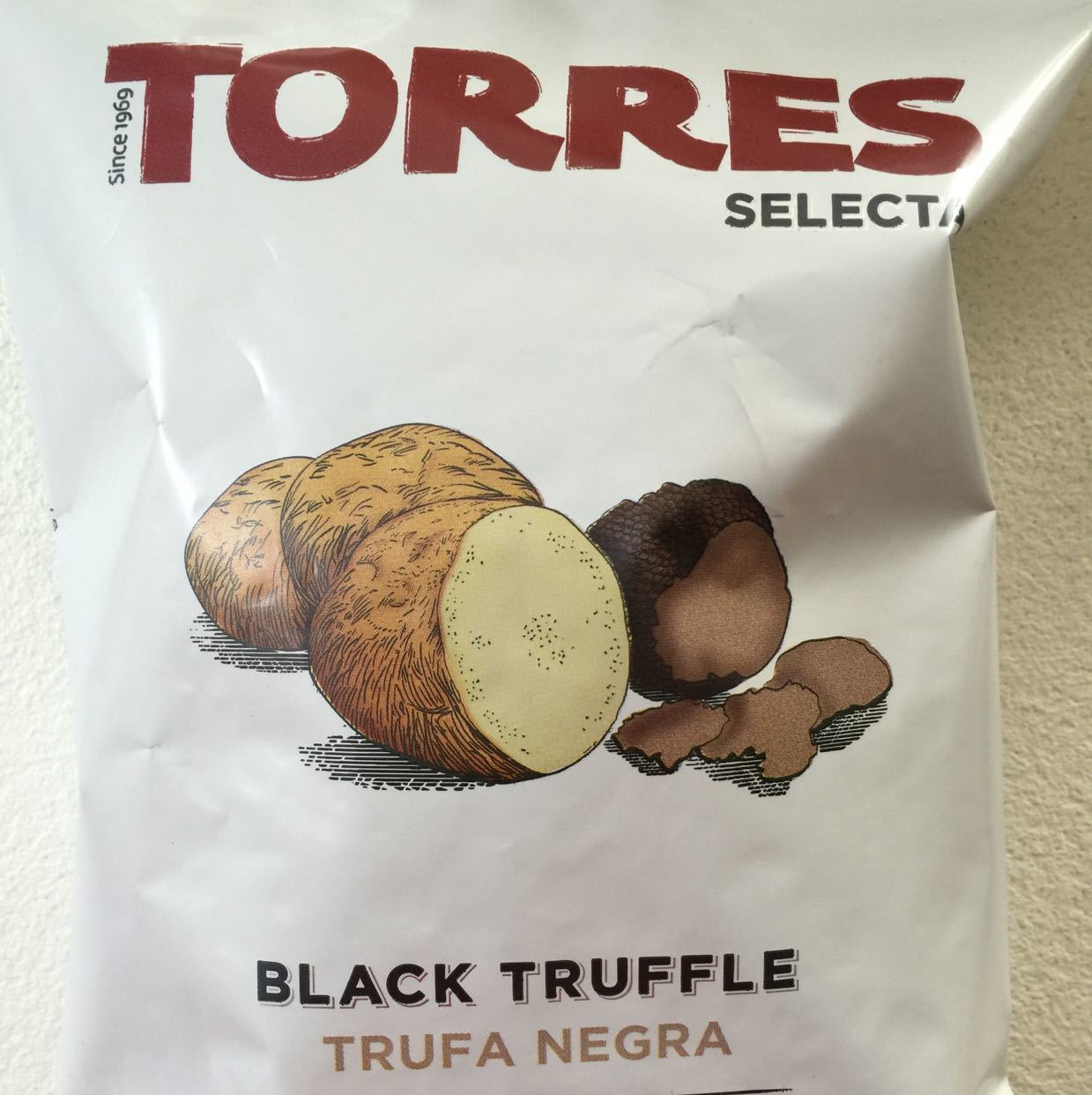 Black Truffle crisps