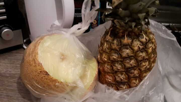 Pineapple and Melon